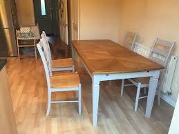 extendable dining room table with 4 chairs john lewis amelie 6 8
