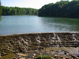 Woodhaven Lakes Map Lake Woodhaven Spillway Dam Located Inside Montgomery Bell U2026 Flickr
