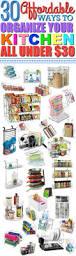 Kitchen Organization Ideas Budget 461 Best Organization Tips Images On Pinterest Organizing Tips
