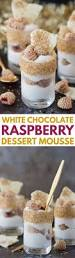 This Easy White Chocolate Raspberry Dessert Mousse Is The