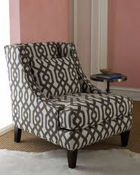 Gray And White Accent Chair Patterned Armchair Ultimate Venue For Grey Patterned Accent Chair