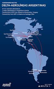 Atlanta Airport Map Delta by Argentine Airline Pact Expands Customer Options Delta News Hub