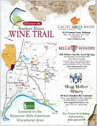 Illinois Brewery Map by Southernmost Illinois Wineries U0026 Orchards