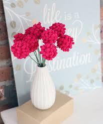 Flowers With Vases Best 25 Pom Pom Flowers Ideas On Pinterest Pom Pom Diy Tissue