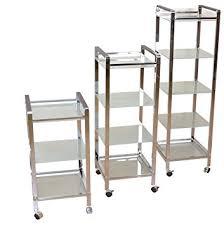 metallregal küche moebel direkt metallregal mit rollen in 3 größen regal