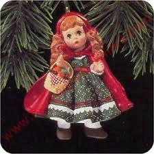 1997 madame 2 hallmark ornament