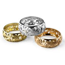 Italian Wedding Rings by Fashion Gold Rings In Pure 18k From Florence Italy And Pierotucci