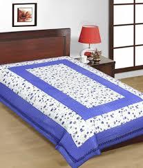 uniqchoice multicolor cotton bed sheet with jaipuri print 4 cotton