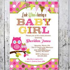 Free Baby Shower Invitation Cards Owl Baby Shower Invitations Stephenanuno Com