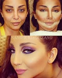 contouring and highlighting makeup transformations