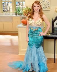 Mermaid Halloween Costume Adults Mermaid Costume Diy Tutorial Martha Stewart Mermaid