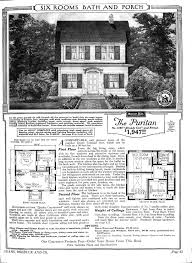 sears catalog homes floor plans the puritan model no 3190 häuser und grundrisse pinterest