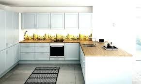grille de cuisine cuisine bois laque cuisine blanc laque plan travail bois grille de