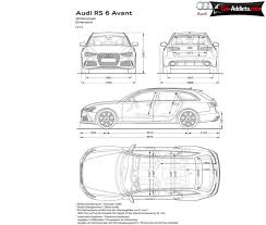 dimension audi a6 dimensions audiworld forums