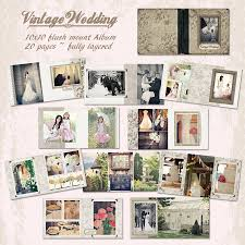 vintage wedding album vintage wedding 12x12 album crave design photobooks