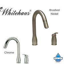 Whitehaus Kitchen Faucet Whitehaus Whus492 Modern Single Pull Metrohaus Kitchen