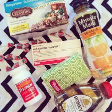 sick care package sick kit flu season flu and sick