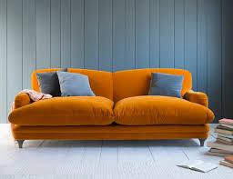 Yellow Leather Sofa Astonishing Modern Leather Blue Sofa Ion Chesterfield Sofa Uk And