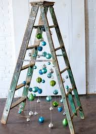 ladder christmas tree inspiration station and funky ladder christmas tree