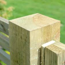 grange elite pressure treated natural fence post 95mm sq
