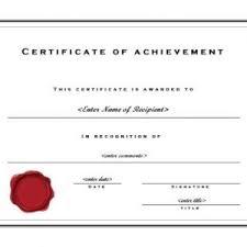top achievers achievement template certificatetemplatenet selimtd