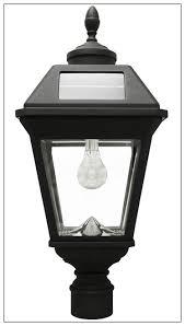 solar pillar lantern led light bulb imperial solar pole light