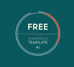after effects free text templates free after effects template 1 2d logo introduction transition