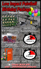 paintball birthday parties in dallas fort worth