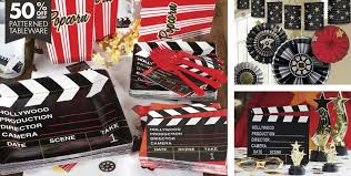 clapboard hollywood movie theme party supplies party city