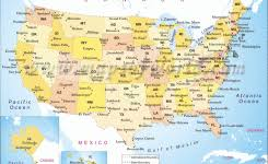 map of usa states and capitals and major cities black and white map of united states with capitals state capital