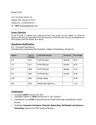 Sample Resume For Engineering Freshers Sample Resume For Freshers In Mechanical Engineering Templates