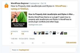 membuat widget twitter di website beginners guide on how to add twitter cards in wordpress