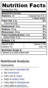 oats nutrition facts resumess radiodigital co