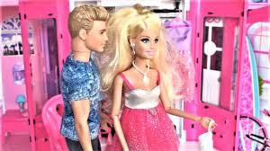 barbie doll bathroom pink bedroom dollhouse toy play barbie