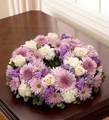 cremation sacramento cremation wreath lavender and white in sacramento ca bouquet
