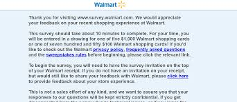 survey for gift card how to get free 1000 gift card from walmart survey