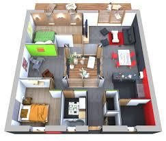 plan de maison gratuit 3 chambres plan maison 90m2 gratuit