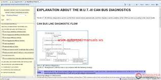 mitsubishi pajero sport ge 2014 service manual cd auto repair