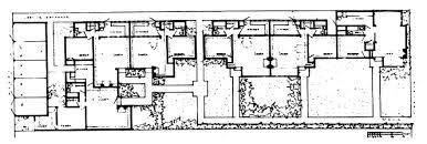 Ben Rose House Floor Plan Usmodernist Rudolf Schindler