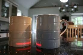 heated coffee mug glowstone heated smart mug fine bone china gadget flow