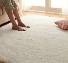 Soft Area Rug Free Shipping Soft Solid Color Rice White Carpet Floor Rug