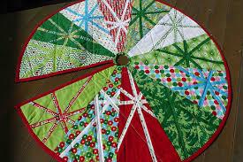 tree skirt pattern quilt free rainforest islands ferry