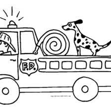 coloring pages fire truck archives mente beta complete