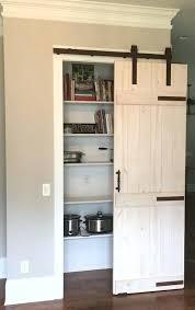 barn door style kitchen cabinets double barn doors style closet door kitchen cabinets interior double