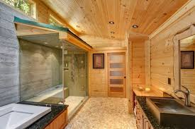 log home interiors photos magnificent modern log home interiors using knotty pine ceiling