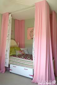 Girls Bedroom Window Treatments Bright U0026 Colorful Bedroom Small Changes With A Big Impact