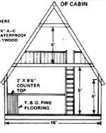 a frame cabin plans free building cabins construction plans at woodworkersworkshop com