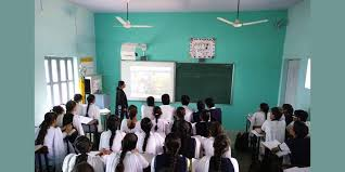 online smart class smart class room vivekanand sr sec school dharuhera