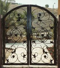 a m ornamental iron home