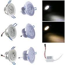9w 12w 15w 21w 27w 36w led downlight ceiling recessed light lamp